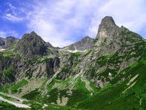 Hohe Tatras Berge Stockfotos