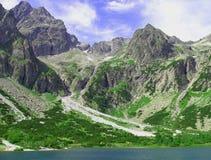 Hohe Tatras Berge, Slovaki Stockfoto