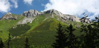 Hohe Tatras Berge, Slowakei Stockfotografie