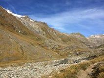 Hohe Tauern, горы, Osttirol Альпы Стоковые Изображения