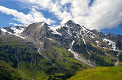 Hohe Tauern Alps, Austria. Nature scenery with Hohe Tauern Alps in Austria highland, Central Europe Stock Photos
