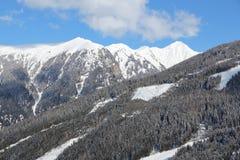 Hohe Tauern, Austria. Bad Gastein, Austria. High Tauern (Hohe Tauern) mountain range in Alps Stock Images