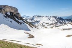 Hohe Tauern Mauntain范围 库存图片