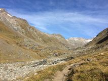 Hohe Tauern, montañas de Osttirol fotos de archivo