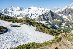 Hohe Tauern Mountain Range Stock Image