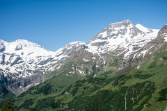 Hohe Tauern Mountain Range Stock Photo