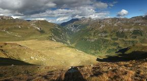 Hohe Tauern panorama Royalty Free Stock Images