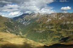 Hohe Tauern valley Royalty Free Stock Photography