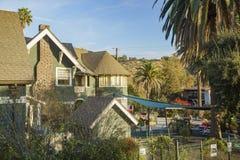 Hohe Winkelsicht einer Kindertagesstätte - La Casita Verde Lizenzfreie Stockfotos