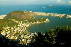 Lagoa Rodrigo De Freitas in Rio de Janeiro Lizenzfreie Stockbilder