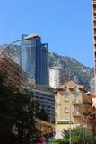 Hohe Wolkenkratzer in Monaco Lizenzfreie Stockbilder