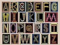 mittelalterliches alphabet vektor abbildung illustration von alphabet 31001593. Black Bedroom Furniture Sets. Home Design Ideas