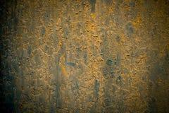 In hohem Grade ausführliches Bild des Schmutzmetallhintergrundes Stockbild