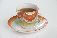In hohem Grade dekoratives Teecup Lizenzfreie Stockbilder