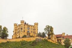 Hohen Schwangau. Castle Hohen Schwangau at Bavaria Country Germany Stock Images