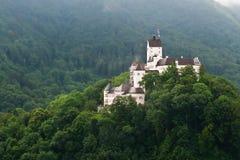 Hohenaschau城堡,巴伐利亚,德国 库存照片