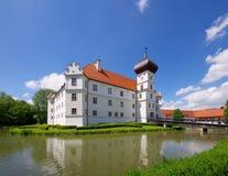 Hohenkammer-Palast stockfotos