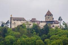 Hohenklingen slott Stein am Rhein Schweiz Royaltyfri Foto