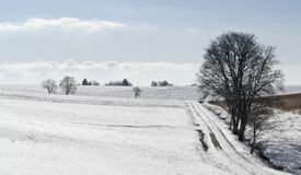 Hohenlohe at winter time Stock Image