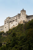 Hohensalzburg城堡萨尔茨堡奥地利 库存照片
