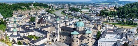 Hohensalzburg城堡,萨尔茨堡奥地利 免版税库存照片