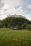 Hohensalzburg城堡 免版税库存照片