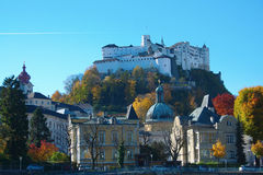 Hohensalzburg castle Royalty Free Stock Photos