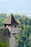 Hohensalzburg castle Royalty Free Stock Photography