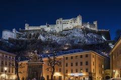 Hohensalzburg Castle Stock Images