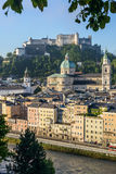 Hohensalzburg Castle (Festung Hohensalzburg) in Salzburg, Austri Royalty Free Stock Images
