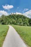 Hohensalzburg Castle (Festung Hohensalzburg) at Salzburg, Austri Royalty Free Stock Image