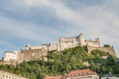 Hohensalzburg Castle (Festung Hohensalzburg) at Salzburg, Austria Stock Photo