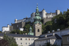 Hohensalzburg Castle - Salzburg - Austria Royalty Free Stock Image