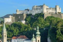 Hohensalzburg Castle in Salzburg, Austria, Europe Royalty Free Stock Images