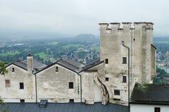 Hohensalzburg Castle in Salzburg, Austria Royalty Free Stock Images