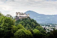 Hohensalzburg Festung Salzburg Österreich stockfotografie