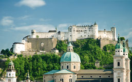 Hohensalzburg Fortress Stock Photos