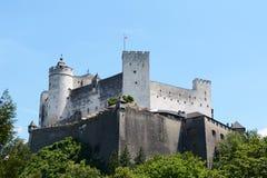 Hohensalzburg Fortress in Salzburg, Austria Royalty Free Stock Photos