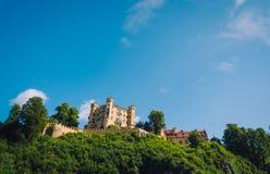 Hohenschwangau城堡 图库摄影