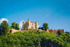 Hohenschwangau城堡 免版税库存图片