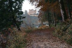 Hohenschwangau κοντά σε Fussen στη Βαυαρία, Γερμανία Στοκ εικόνες με δικαίωμα ελεύθερης χρήσης