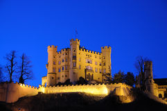 hohenschwangau της Γερμανίας κάστρων Στοκ φωτογραφίες με δικαίωμα ελεύθερης χρήσης