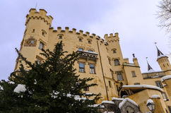 hohenschwangau της Γερμανίας κάστρων Στοκ εικόνες με δικαίωμα ελεύθερης χρήσης