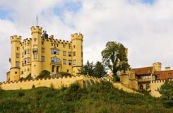 hohenschwangau Германии замока Баварии Стоковое Изображение