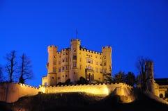 hohenschwangau Германии замока Стоковые Фотографии RF