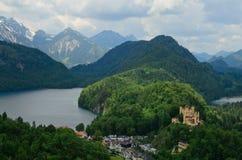 hohenschwangau Германии замока Стоковое фото RF