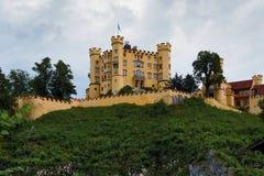 hohenschwangau замока Баварии Стоковые Фотографии RF