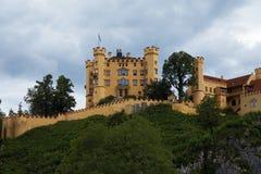 hohenschwangau замока Баварии Стоковое Изображение RF