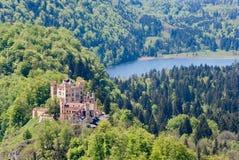 hohenschwangau замока Стоковая Фотография