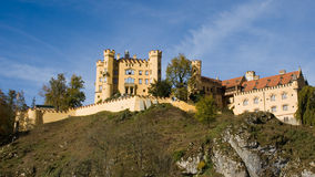 hohenschwangau замока Стоковое Фото